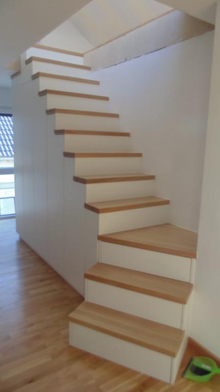Schaude Holztechnik Treppenschrank
